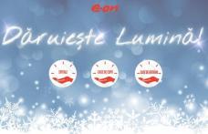 De Crăciun, E.ON Energie România dăruieşte 200.000 de kWh unor instituţii sociale din 10 judeţe