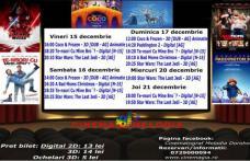 """Vezi ce filme vor rula la Cinema """"MELODIA"""" Dorohoi, în săptămâna 15 - 21 decembrie – FOTO"""