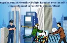 Recomandări de la Poliţia Română pentru cumpărături sigure în perioada sărbătorilor