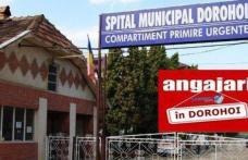 Spitalul Municipal Dorohoi organizează concurs pentru două posturi vacante, perioadă determinată. Vezi detalii!