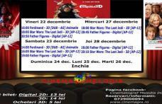 """Vezi ce filme vor rula la Cinema """"MELODIA"""" Dorohoi, în săptămâna 22 - 28 decembrie – FOTO"""