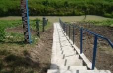 S-au finalizat lucrările pe râul Jijia