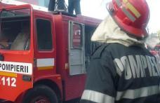 Dorohoi: Excavator distrus într-un incendiu