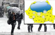 Val de aer POLAR peste România anunțat de meteorologi