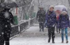 Se strică vremea! În unele zone va ninge, iar temperaturile vor ajunge chiar şi la -10 grade!