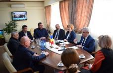 Delegație din Raionului Edineț – Republica Moldova prezentă astăzi la Consiliul Județean Botoșani - FOTO