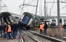 Tren deraiat în Italia: printre răniţi se află şi un român
