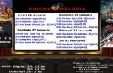 """Vezi ce filme vor rula la Cinema """"MELODIA"""" Dorohoi, în săptămâna 25 ianuarie 1 februarie – FOTO"""