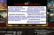 """Vezi ce filme vor rula la Cinema """"MELODIA"""" Dorohoi, în săptămâna 2 – 8 februarie – FOTO"""