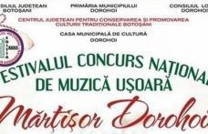 """Festivalul """"Mărțișor Dorohoian"""" 2018. Vezi cine cântă în recital!"""