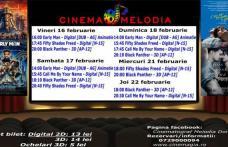 """Vezi ce filme vor rula la Cinema """"MELODIA"""" Dorohoi, în săptămâna 16 – 22 februarie – FOTO"""
