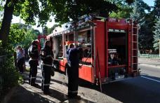 Incendiu la fosta Casa de Copii din Dorohoi FOTO - VIDEO