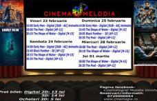 """Vezi ce filme vor rula la Cinema """"MELODIA"""" Dorohoi, în săptămâna 23 februarie – 1 martie – FOTO"""