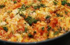 Mâncare de conopidă cu ciuperci – de post
