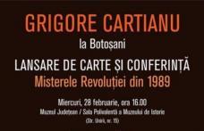 Lansare de carte Grigore Cartianu, la Muzeul Județean Botoșani