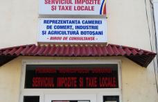 Dorohoi: Se renovează sediul Taxe şi Impozite
