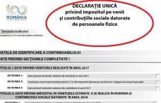 Cine sunt românii care vor depune DECLARAȚIA UNICĂ pentru persoanele fizice