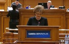 """Deputatul PSD Mihaela Huncă despre moțiunea pe educație a PNL: """"O parte din semnatarii moțiunii sunt cei care în 2010 au susținut în Parlament tăierea"""