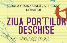 """Ziua porților deschise la Școala Gimnazială """"Alexandru Ioan Cuza"""" Dorohoi"""