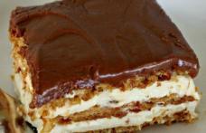 Prăjitură delicioasă fără coacere