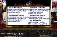 """Vezi ce filme vor rula la Cinema """"MELODIA"""" Dorohoi, în săptămâna 16 – 22 martie – FOTO"""
