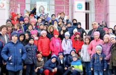 """Schimb de experiență între Școala """"Mihail Sadoveanu"""" Dumbrăvița și Liceul """"Nicolae Iorga"""" Botoşani """"Botoşani, cunoaşte-mă!"""" - FOTO"""