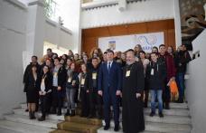 Delegaţie Erasmus+ din patru ţări, la Palatul Administrativ - FOTO