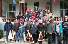 Acțiune de voluntariat la Școala Gimnazială nr. 1 Suharău - FOTO