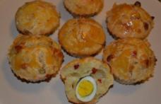 Brioșe cu ouă de prepeliță