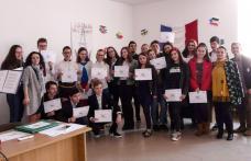"Liceul ""Regina Maria"" Dorohoi celebrează Francofonia - FOTO"