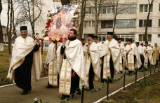 Pelerinajul tradițional de Florii - moment de bucurie duhovnicească pentru credincioșii din Dorohoi - FOTO