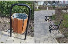 Primim la redacţie – Parcă sunt sălbatici! Ce au putut face câțiva vandali în Parcul Cholet din Dorohoi - FOTO