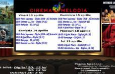 """Vezi ce filme vor rula la Cinema """"MELODIA"""" Dorohoi, în săptămâna 13 – 19 aprilie – FOTO"""
