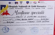 "Olimpic național de la Liceul ""Regina Maria"" Dorohoi, dublu laureat pe podiumul francofon european - FOTO"
