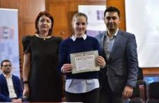 """Performanță de excepție obținută de o elevă a Liceului Tehnologic """"Al. Vlahuţă"""" Şendriceni"""