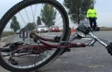 Accident rutier la Broscăuţi. Biciclist rănit de un șofer imprudent!