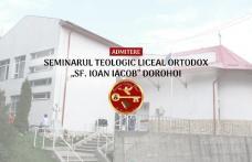 """Seminarul Teologic Liceal Ortodox """"Sf. Ioan Iacob"""" Dorohoi face înscrieri pentru anul școlar 2018-2019. Vezi detalii!"""