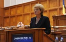 """Mihaela Huncă: """"Primele trei luni de guvernare din acest an au însemnat majorarea veniturilor populației, creșterea investițiilor, reducerea birocrați"""
