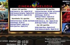 """Vezi ce filme vor rula la Cinema """"MELODIA"""" Dorohoi, în săptămâna 20 – 26 aprilie – FOTO"""
