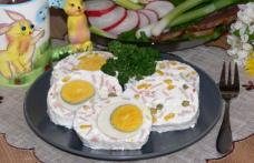 Ruladă de brânză cu ouă