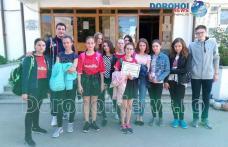 """Rezultat remarcabil obținut de echipa de handbal fete a Școlii Gimnaziale """"Mihai Kogălniceanu"""" Dorohoi - FOTO"""