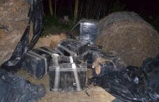 Focuri de armă pentru reţinerea unui contrabandist - FOTO