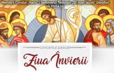 """Corul """"Haris"""" de la Seminarul din Dorohoi vă invită la tradiționalul Concert pascal!"""