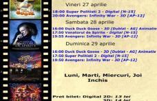 """Vezi ce filme vor rula la Cinema """"MELODIA"""" Dorohoi, în săptămâna 27 aprilie – 3 mai – FOTO"""