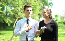 Seminariștii dorohoieni în vizită la Memorialul Ipotești - FOTO