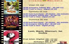 """Vezi ce filme vor rula la Cinema """"MELODIA"""" Dorohoi, în săptămâna 4 – 10 mai – FOTO"""