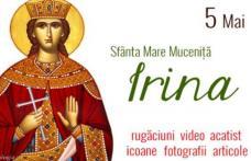 Rugăciune către Sfânta Mare Muceniţă Irina, ocrotitoarea căsătoriţilor şi a celor care vor să se căsătorească