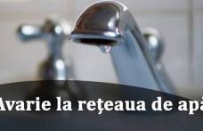 Nova Apaserv anunță o nouă avarie apărută la o conducta de distribuţie apă în Dorohoi. Vezi cine rămâne fără apă!