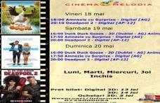"""Vezi ce filme vor rula la Cinema """"MELODIA"""" Dorohoi, în săptămâna 18 – 24 mai – FOTO"""