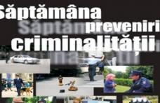 Săptămâna prevenirii criminalităţii organizată de poliţia botoşăneană